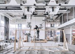 Roboter im Holzbau   ETH Zürich   IHM   (c) NFS Digitale Fabrikation / Roman Keller