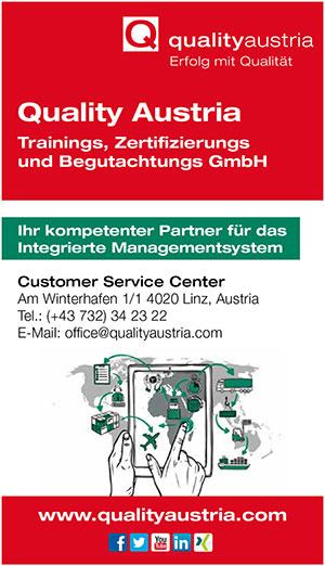 qualityAustria | Umweltjournal | Anbieterindex (c) quality Austria