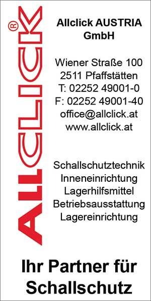 ALLCLICK | Umweltjournal | Lärmschutz | (c) ALLCLICK