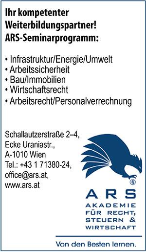 ARS | Umweltjournal | Anbieterindex | WEITERBILDUNG (c) ARS