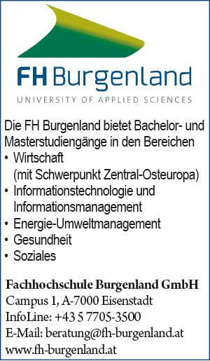 FHBurgenland | Umweltjournal | Anbieterindex | AUSBILDUNG (c) FH Burgenland