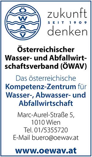 OEWAV | Umweltjournal | Anbieterindex | WASSER (c) ÖWAV
