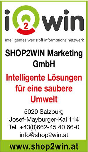 Shop2Win | Umweltjournal | Anbieterindex (c) Shop2Win