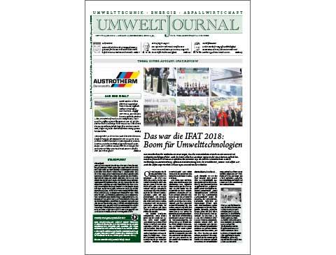 UMWELTJOURNAL   04/18   E-Paper