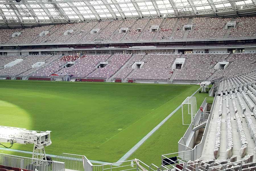 Hauraton entwässert Luschniki-Stadion   UmweltJournal   (c) hauraton