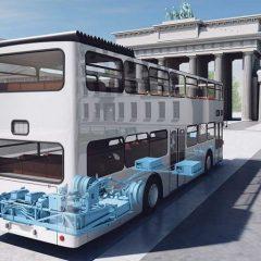 25 von 500 Berliner Doppeldeckern | UmweltJournal (c) Grafik: Tassima