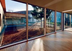 Holz-Pavillon in steirischem Krankenhaus   UmweltJournal (c) Paul Ott