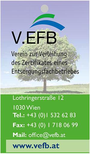 VEFB | Umweltjournal | Anbieterindex (c) V.EFB