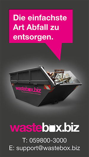 Wastebox-Saubermacher | UmweltJournal | Topanbieter-Index | ABFALLENTSORGUNG (c) wastebox.biz