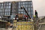 Weltneuheit beim B12 in Nüziders: klimaschonender Zement im Praxistest