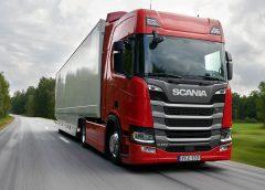 Scania R 450 ist verbrauchs- und umweltfreundlichstes Nutzfahrzeug seiner Klasse   (c) Scania