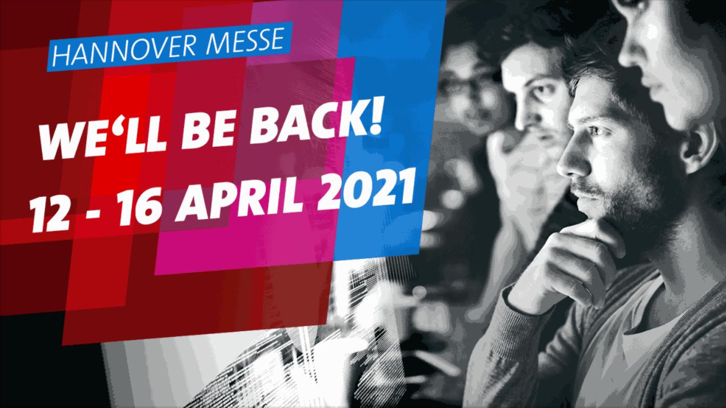Foto: Hannover Messe 12. - 16. April 2021