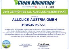Foto: Allclick von Clean Advantage ausgezeichnet