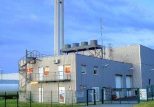Foto: Biomasse-Heizkraftwerk