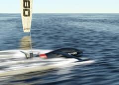 """Foto: Der """"SP80"""" soll 2022 den Rekord für Segelboote auf 150 km-h schrauben © SP80"""