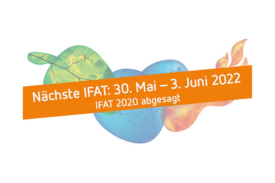 Logo: IFAT 2022 vom 30. Mai bis zum 3. Juni - Messe München