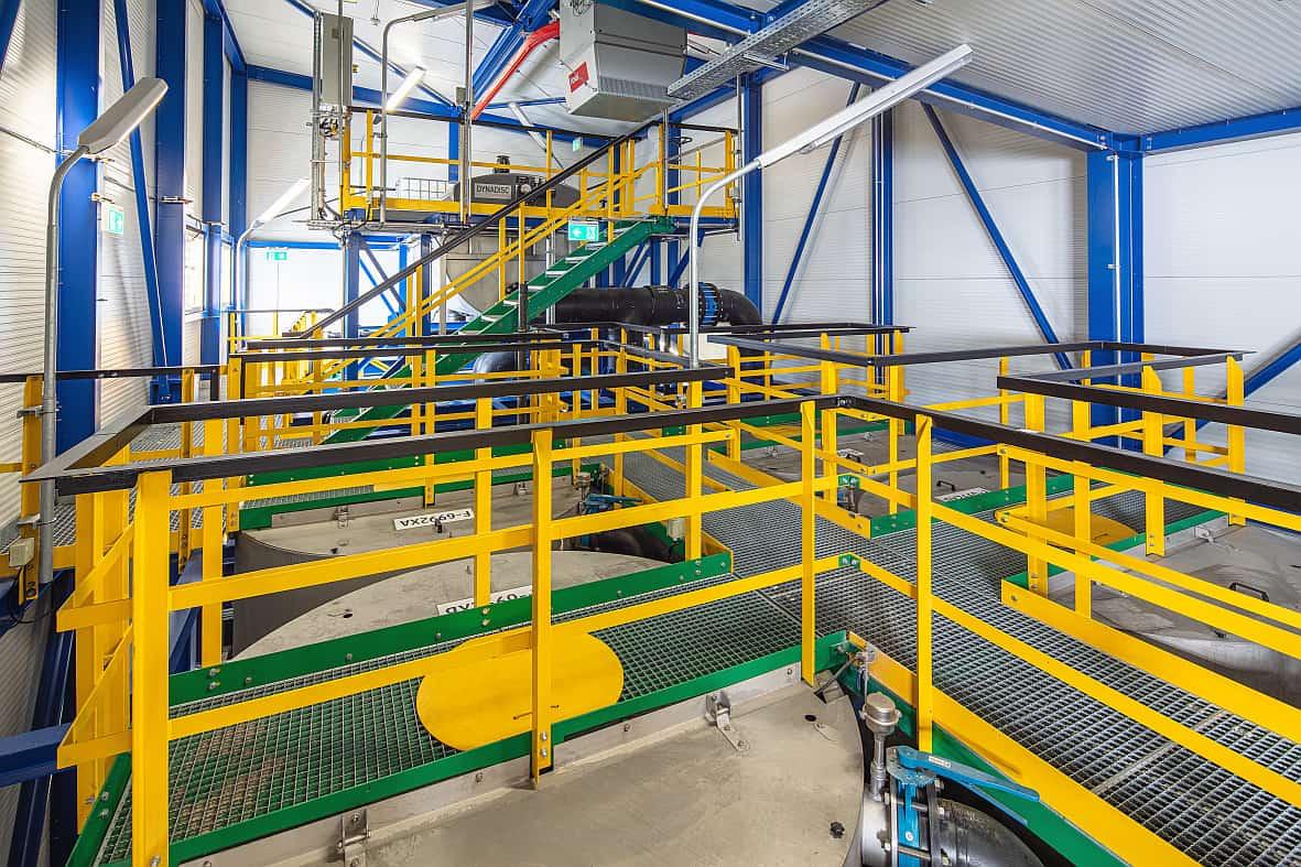 Foto: Borealis Filteranlage in Schwechat