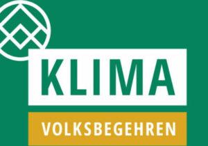 Foto: Klimavolksbegehren Österreich vom 22. bis 29. Juni 2020 unterschreiben