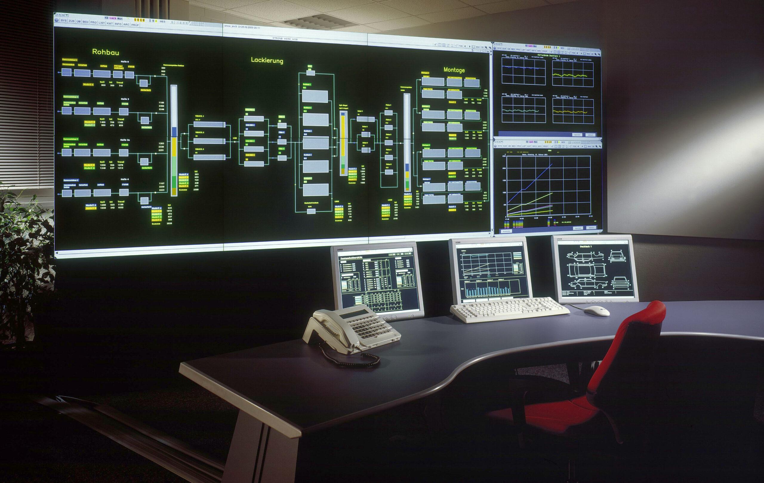 Foto: PSI-Fertigungsleitsystem