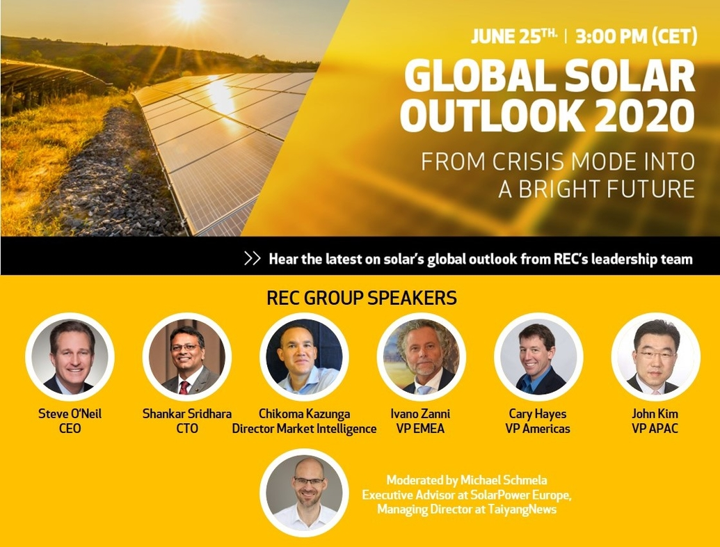 Foto: REC Global Solar Outlook 2020