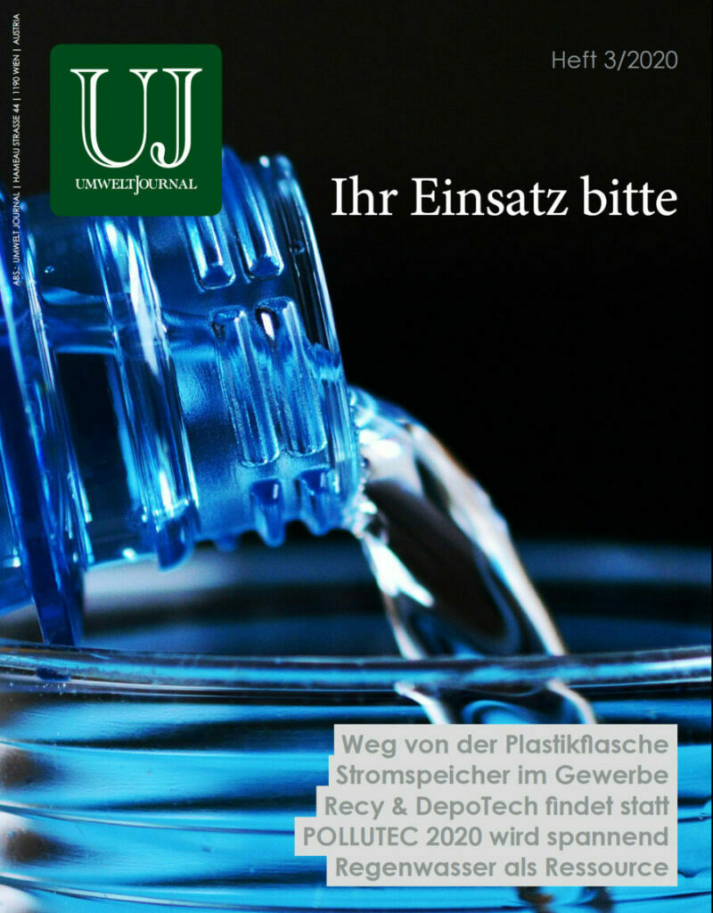 Foto: UMWELT JOURNAL 3-2020, Cover
