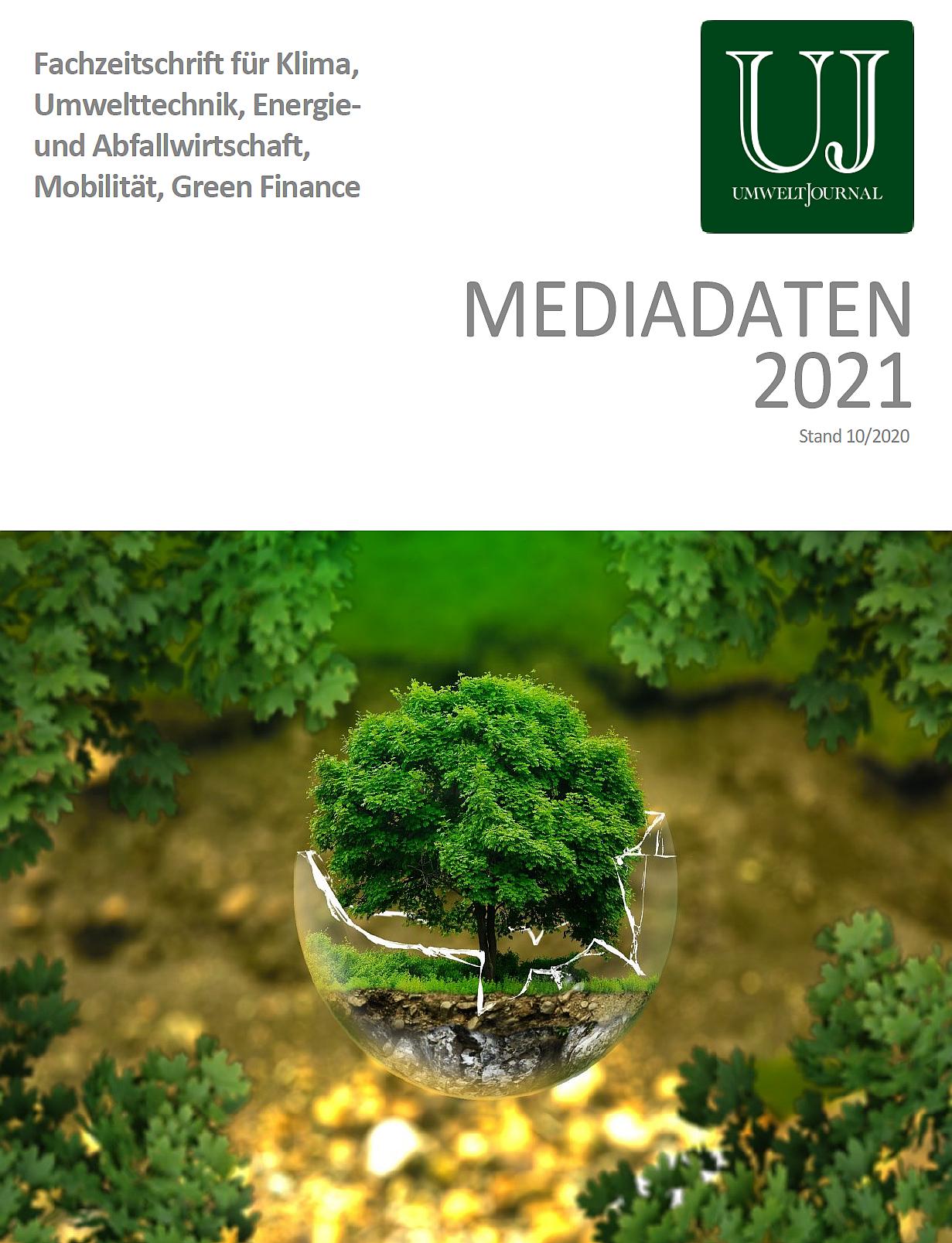 Foto: UMWELT JOURNAL Mediadaten 2021, Cover