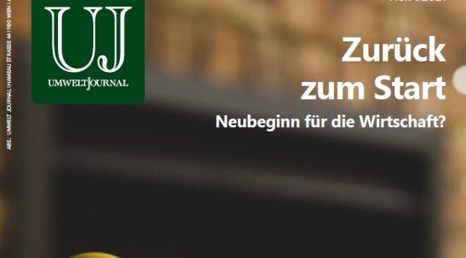 Foto: UMWELT JOURNAL 1/2021 Cover
