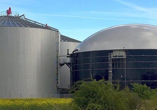 Foto: Biogas Anlage