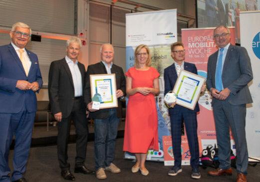 Foto: Österreichischer Gemeindetag Preisverleihung KEM /KLAR! © Klimafonds, APA-Fotoservice, Tanzer