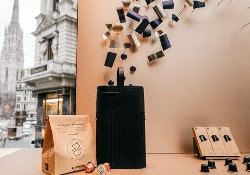 BILD zu OTS - Nespresso Kaffeekapseln fŸr Privatkunden werden in …sterreich bis Ende nŠchsten Jahres mit 80 % recyceltem Aluminium hergestellt.