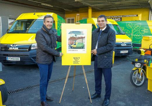 Foto: Post nimmt 2.000. E-Fahrzeug in Betrieb (c) Österreichische Post AG