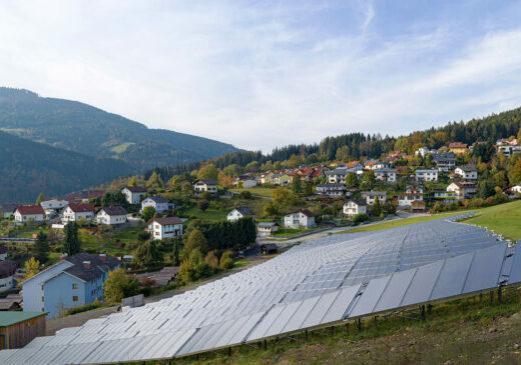 Foto: SOLID Solar Anlage Mürzzuschlag © Schrotthofer