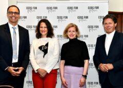 Foto: CEOs for Future: Kren, Brunner, Kraft-Kinz, Anzengruber © Paris Tsitsos