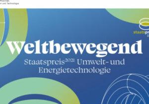 Foto: Staatspreis Umwelt und Energietechnologie 2021